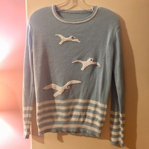 Sweaters - Vintage seagull sweater